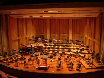 Copley Symphony Hall Stage